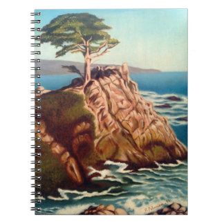 Lonely Cypruss Notebook