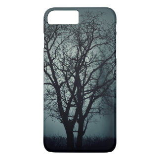 Lonely dead tree at night iPhone 7 plus case