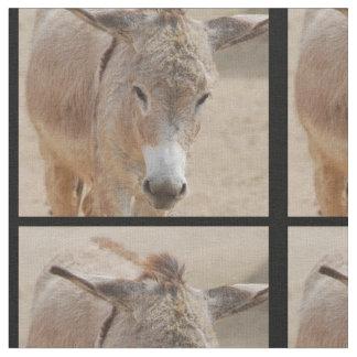 Lonely Donkey Fabric