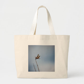 lonely dragonfly large tote bag