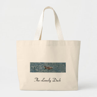 lonely duck, The Lonely Duck Tote Bags
