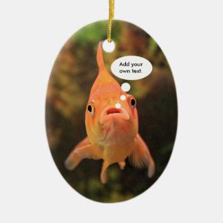 Lonely Fish Ceramic Ornament