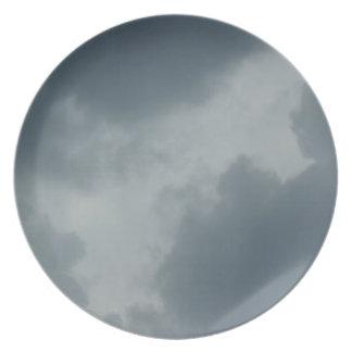 Lonely Grey Skies Plate