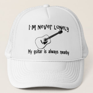 Lonely Guitar Trucker Hat