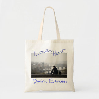Lonely Heart tote Budget Tote Bag