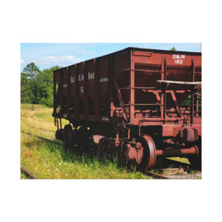 Lonely Hopper Car Canvas Print