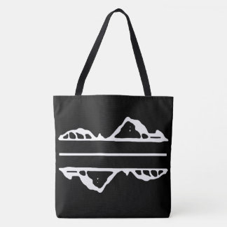 Lonely Island White Tote Bag