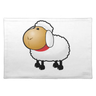lonely lamb placemat