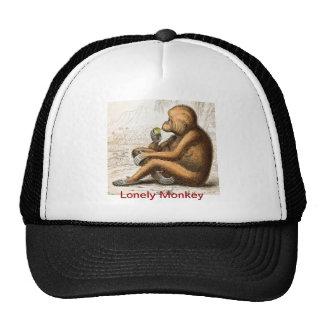 LONELY MONKEY - Baseball Cap Hats