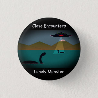 "Lonely Monster Cartoon Badge Mark 1 (1.25"")"
