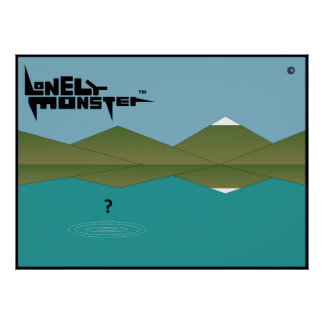 Lonely Monster? Poster