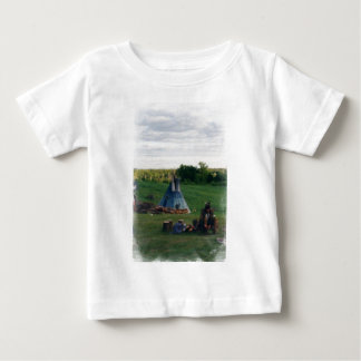 Lonely Native American Indian Baby T-Shirt