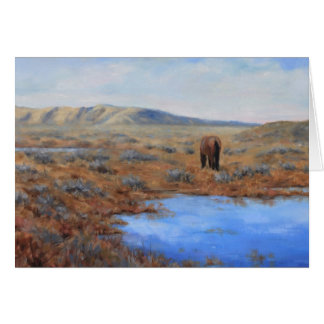 Lonely Pasture All Occasion Greeting Card