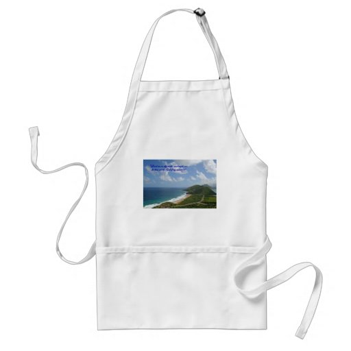 Lonely road, Lord lead me. Apron