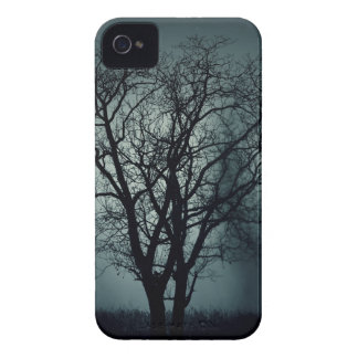 Lonely Tree at Night iPhone 4 Case-Mate Cases
