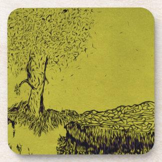 Lonely Tree Beverage Coaster
