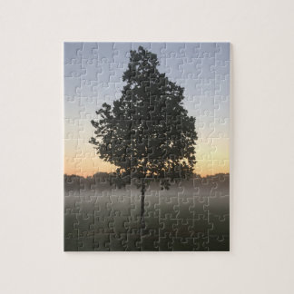 lonely tree jigsaw puzzle