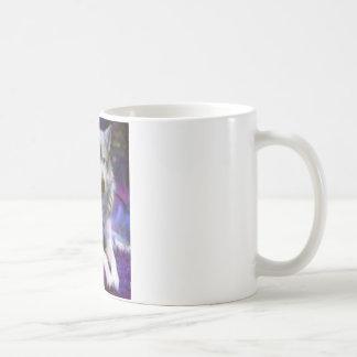 Lonely Wolf Basic White Mug