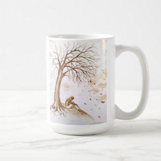 lonelyness and despression coffee mug