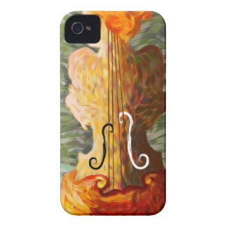 Lonessia V1 - violin beauty iPhone 4 Covers