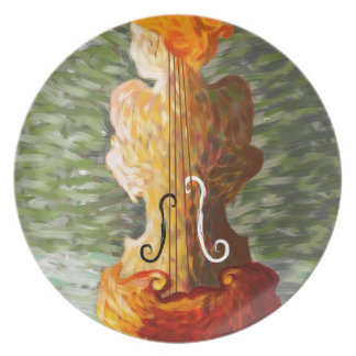 Lonessia V1 - violin beauty Plate