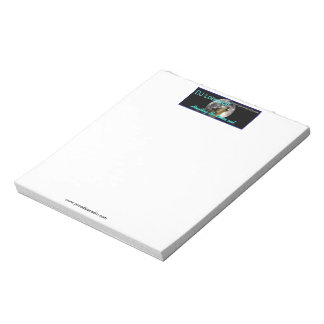 """(Lonewolf) 5.5"""" x 6"""" Notepad: 40 Pages Notepad"""