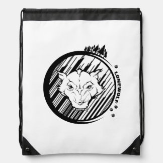 Lonewolf Drawstring Backpack