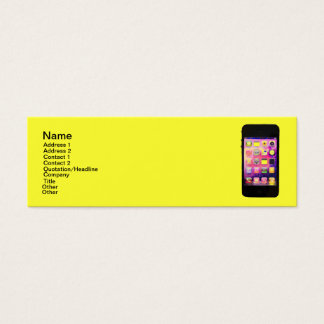 Long and Bright iPhone Mini Business Card