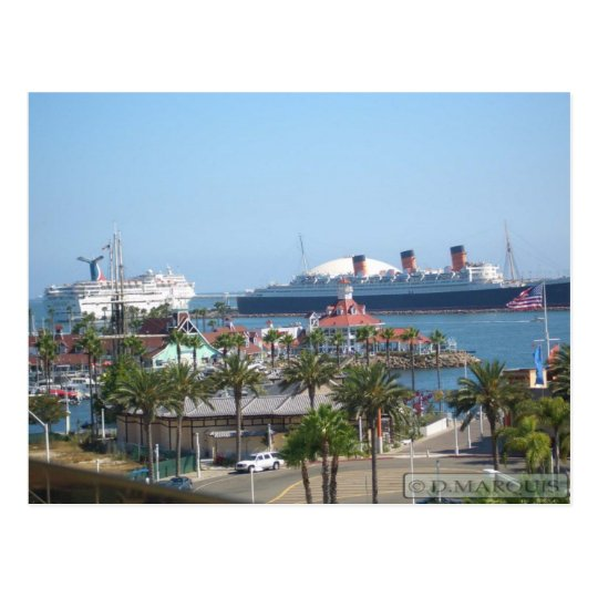 LONG BEACH, CA POSTCARD #1