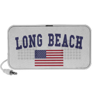 Long Beach CA US Flag Travelling Speaker