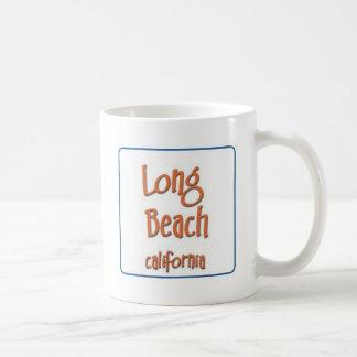Long Beach California BlueBox Basic White Mug