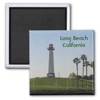 Long Beach California Magnet! Square Magnet
