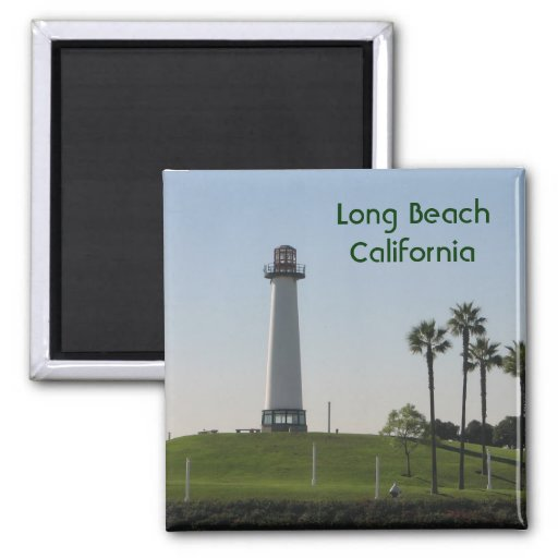 Long Beach California Magnet!