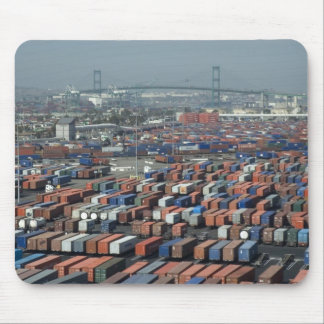 Long Beach Shipping Containers Mouse Pad