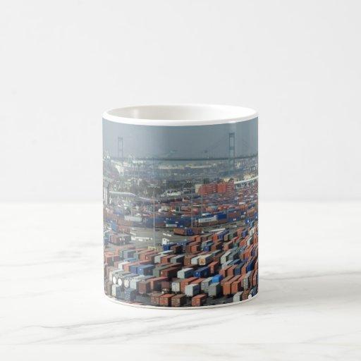 Long Beach Shipping Containers Mug