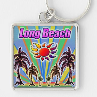 Long Beach Summer Love Keychain