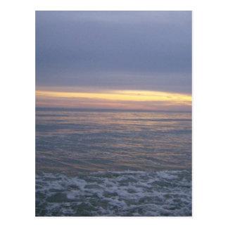 Long Beach Sunset Postcard