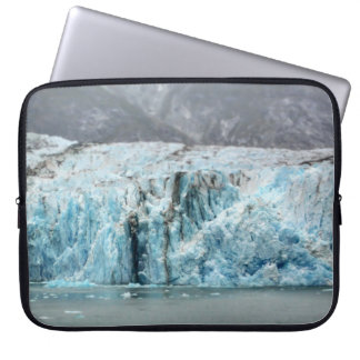 Long Blue Glacier Laptop Sleeve