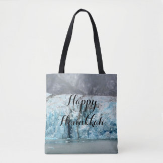 Long Blue Glacier Tote
