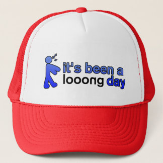 Long Day Official Josh Taylor Blue/Red Ball Cap
