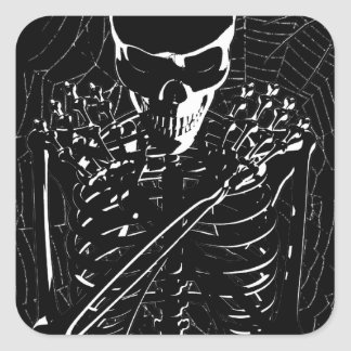 Long -Dead Skeleton Stickers