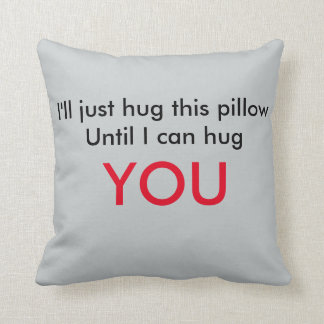 Long Distance Relationship Pillow