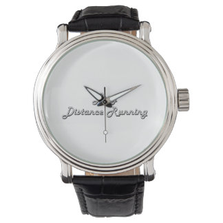 Long Distance Running Classic Retro Design Wrist Watch