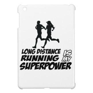 Long distance running iPad mini case