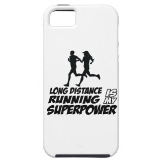 Long distance running iPhone 5 case