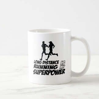 Long distance running coffee mugs