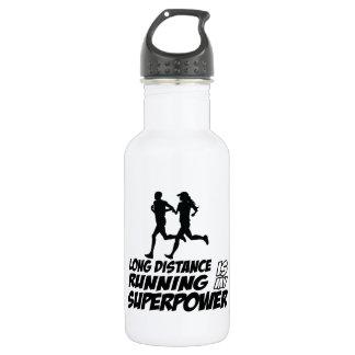 Long distance running 18oz water bottle