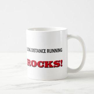 Long Distance Running Rocks Mugs
