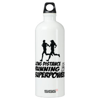 Long distance running SIGG traveller 1.0L water bottle