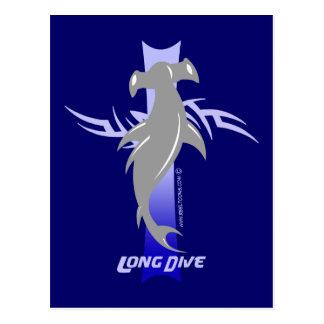 Long Dive: Hammerhead Postcard